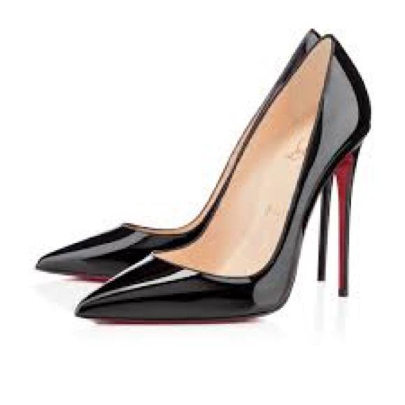 140512c2cf4f Christian Louboutin Shoes - Christian Louboutin 37 So Kate Patent Black Pump